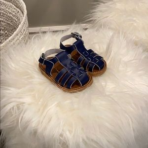 Freshly Picked Bixby Sandal Size 3 Navy (maritime)